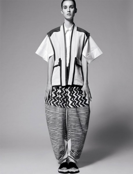 Marte Mei Van Haaster Poses for Amy Troost in Muse Spring 2013