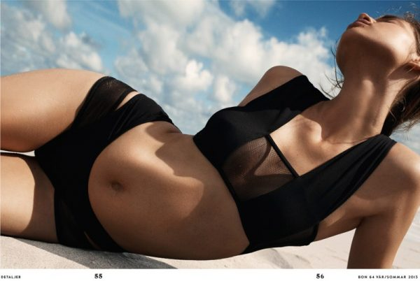 Anais Pouliot is a Beach Babe for Bon Spring/Summer 2013 by Benny Horne
