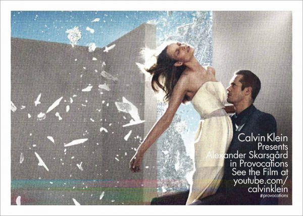 Suvi Koponen and Alexander Skarsgard Front Calvin Klein's Spring 2013 Campaign