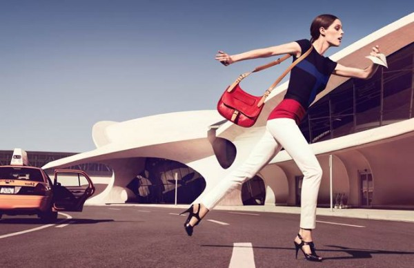 "Coco Rocha Stars in ""You Should be Dancing"" for Longchamp's Spring 2013 Campaign"