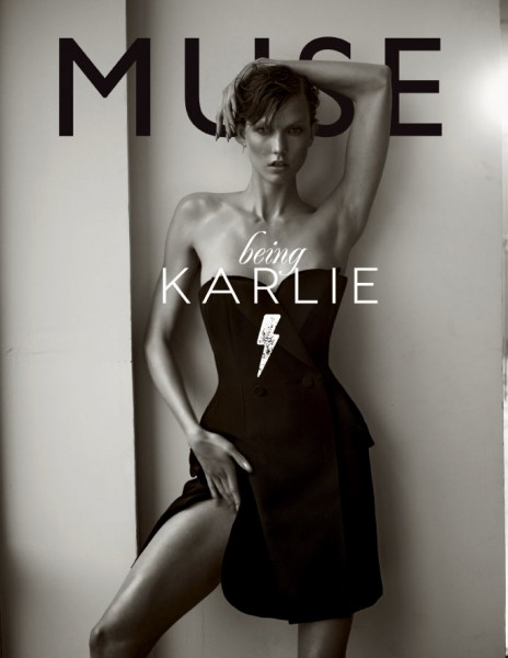 See Karlie Kloss in Action for Muse's Spring 2013 Cover Shoot