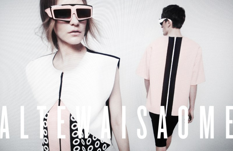 Dorothea Barth Jorgensen Stars in the iPhone Snapped, Altewaisaome Spring 2013 Campaign