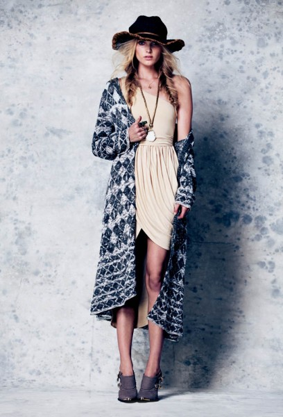 Free People Taps Elsa Hosk for February Lookbook
