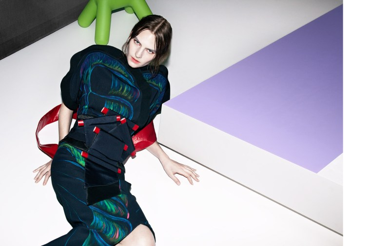 Hirschy Hirschfelder Dons Japanese-Inspired Looks for Marie Claire Italia March 2013