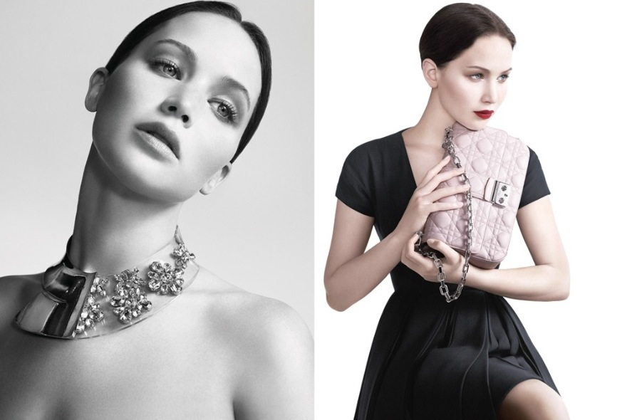 Jennifer Lawrence Stars in Miss Dior Spring 2013 Campaign by Willy Vanderperre
