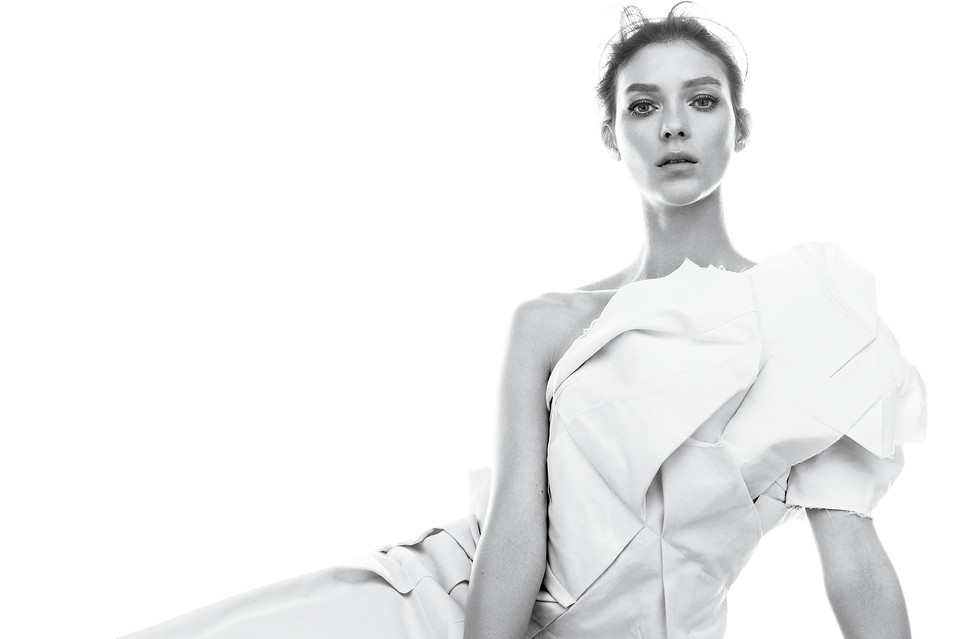 Kati Nescher is White Hot for WSJ Magazine March 2013