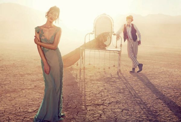Liu Wen Travels With the Circus for Vogue Australia's March Issue by Will Davidson