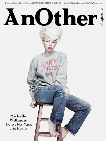 Michelle Williams Covers AnOther Magazine's Spring-Summer 2013 Issue