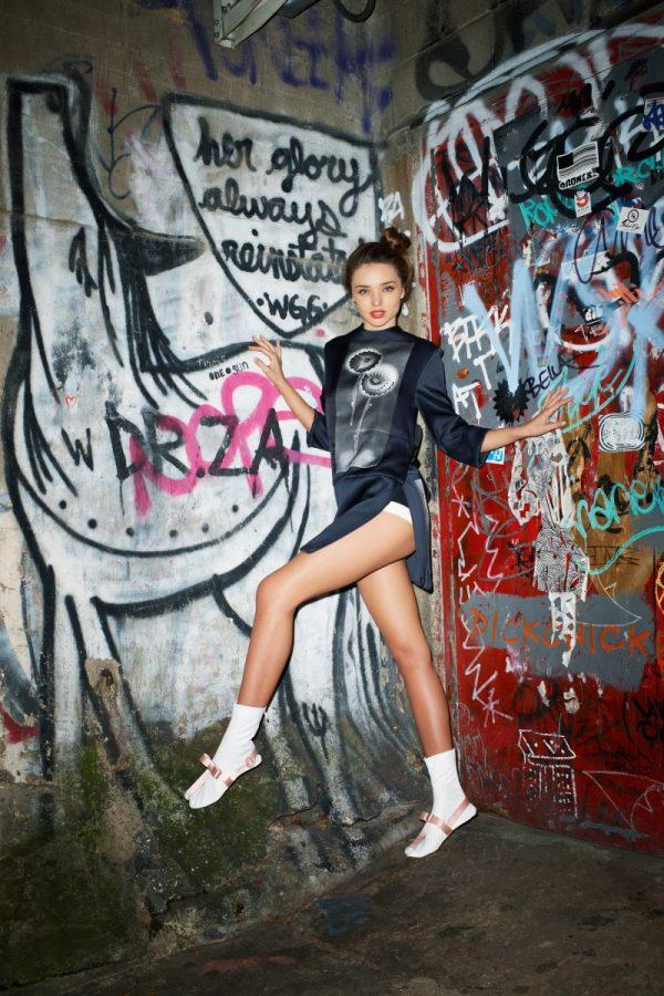 Miranda Kerr Poses for Terry Richardson in Purple Magazine ...