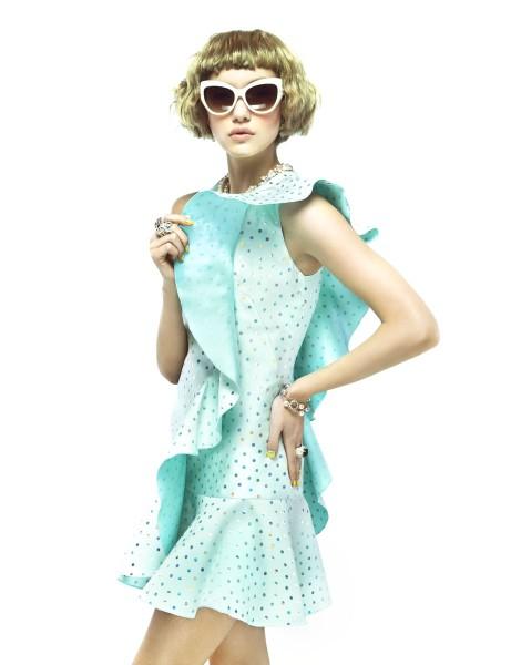 Cordelia Kuznetsova is Pretty in Pastels for Elle Russia March 2013 by Nikolay Biryukov