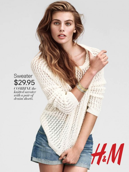 Madison Headrick is Casual Chic for H&M's Latest Trend Update