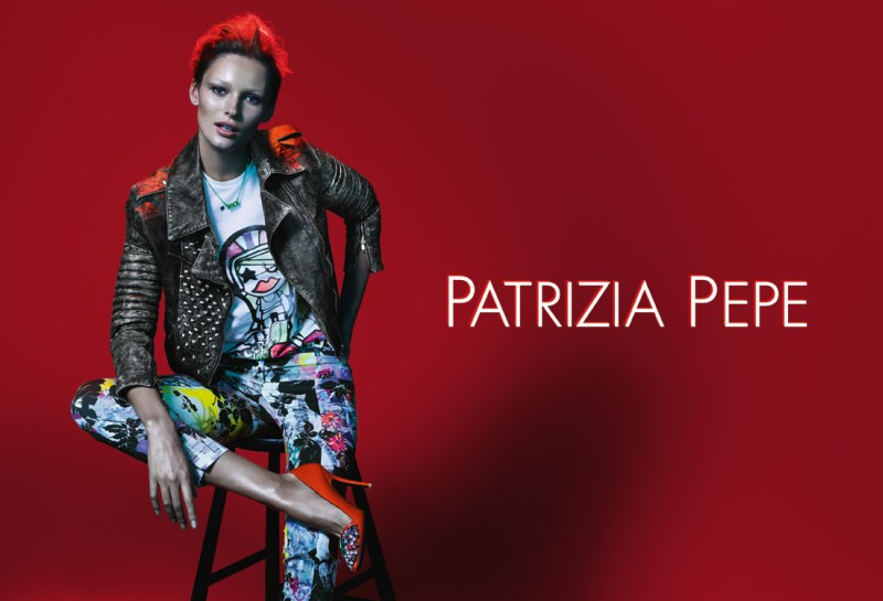 Edita Vilkeviciute Stars in Patrizia Pepe's Spring 2013 Campaign by Mert & Marcus