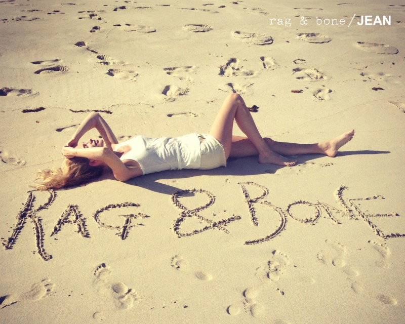 Poppy Delevingne Stars in Rag & Bone's D.I.Y. Project for Spring 2013