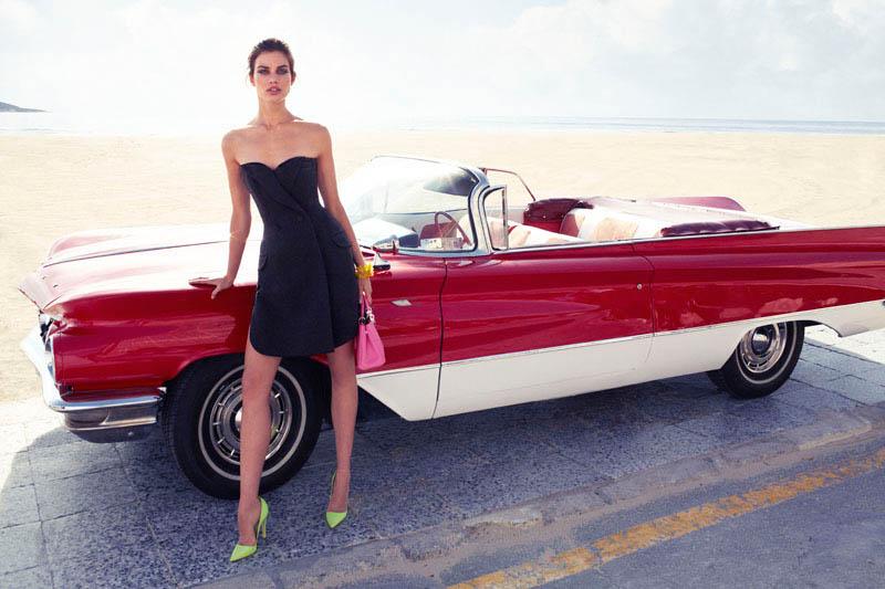 Rianne ten Haken Poses for Xavi Gordo in Elle Spain's March 2013 Cover Shoot