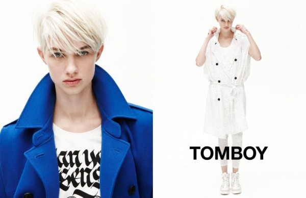 Harmony Boucher Keeps it Cool in Tomboy's Spring 2013 Campaign