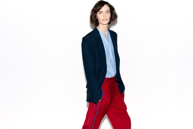 Zara Taps Sam Rollinson for its February Lookbook