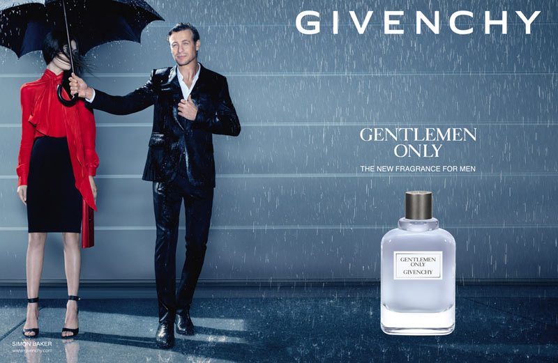 "Givenchy Introduces ""Gentlemen Only"" Fragrance Campaign with Simon Baker"