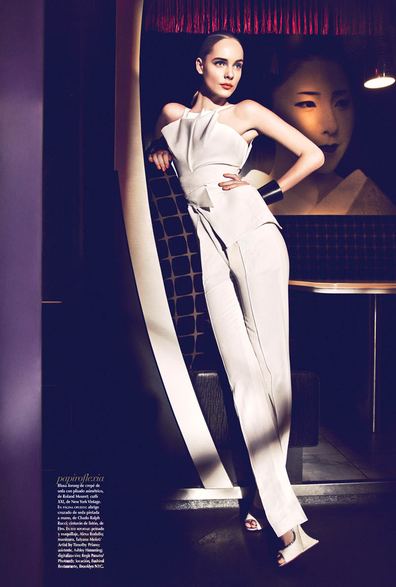 Jules Mordovets Poses for Yossi Michaeli In Vogue Mexico March 2013