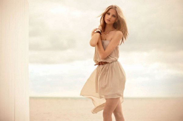 Anna Selezneva Gets Dreamy for Calliope's Spring 2013 Campaign