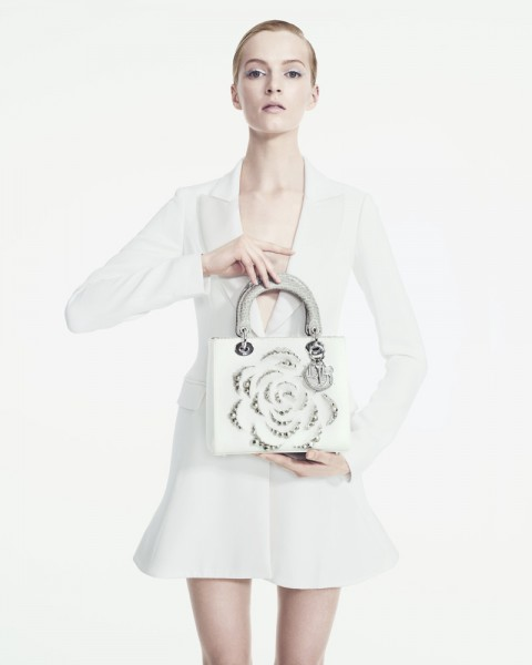 Daria Strokous is Refined in Dior for Bergdorf Goodman by Sofia & Mauro