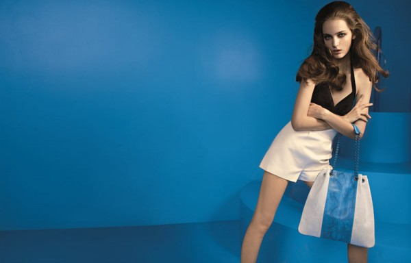 Zuzanna Bijoch Dives Into the Blue for Devi Kroell's Spring 2013 Campaign