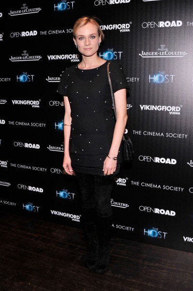 "Diane Kruger in Chanel at ""The Host"" NYC Screening"