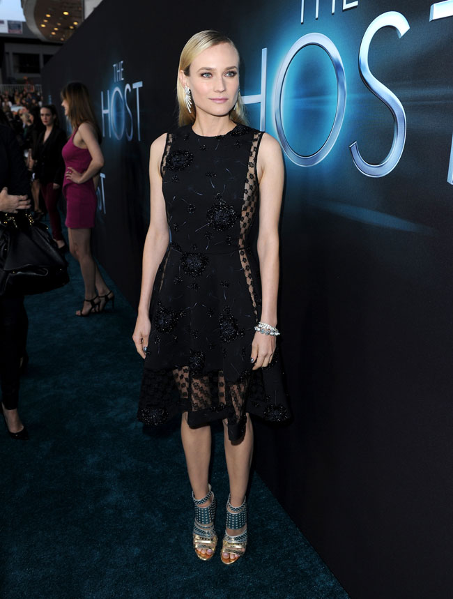 "Diane Kruger in Thakoon at ""The Host"" Los Angeles Premiere"