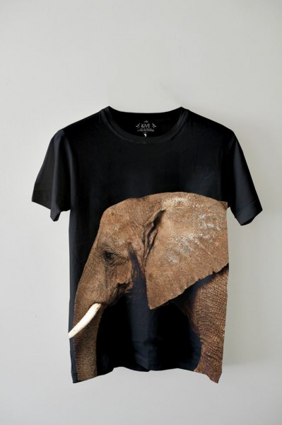 EDUN Collaborates with Ryan McGinley for T-Shirt Celebrating the African Elephant