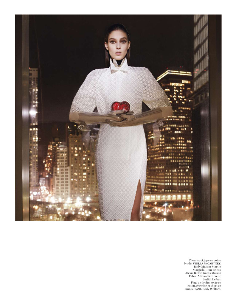 Kati Nescher Enchants the City for Vogue Paris March 2013 by Glen Luchford