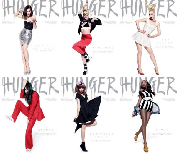 Rita Ora, Jessie J,  Iggy Azalea and More Cover HUNGER Magazine #4