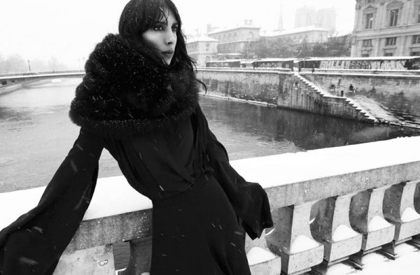 Jamie Bochert Poses for Samantha Rapp in Vice Magazine
