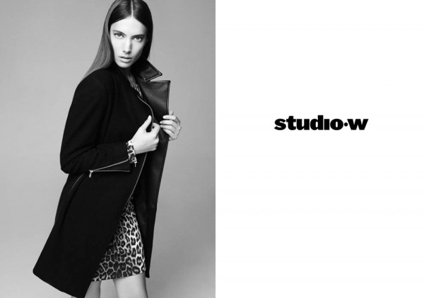 Jessica Miller Fronts the Studio W Spring 2013 Campaign by Nagi Sakai