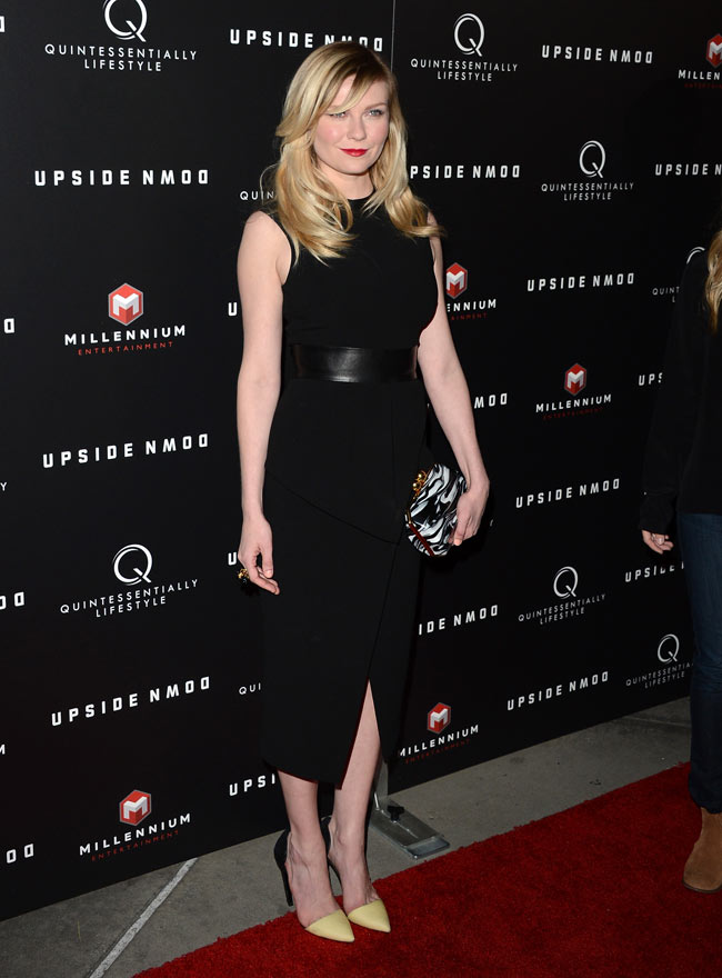 "Kirsten Dunst in Proenza Schouler at ""Upside Down"" Special LA Screening"