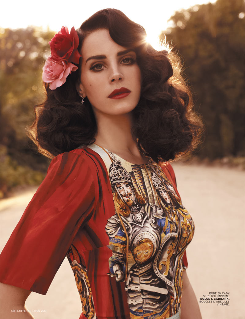 Lana Del Rey Gets Romantic For L'Officiel Paris' April