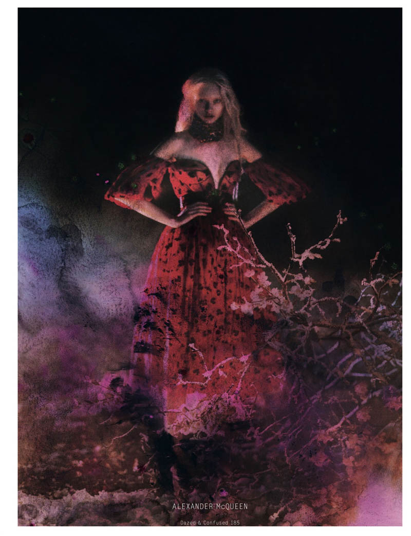 Nastya Kusakina Enchants for Jeff Bark in Dazed & Confused's March Issue