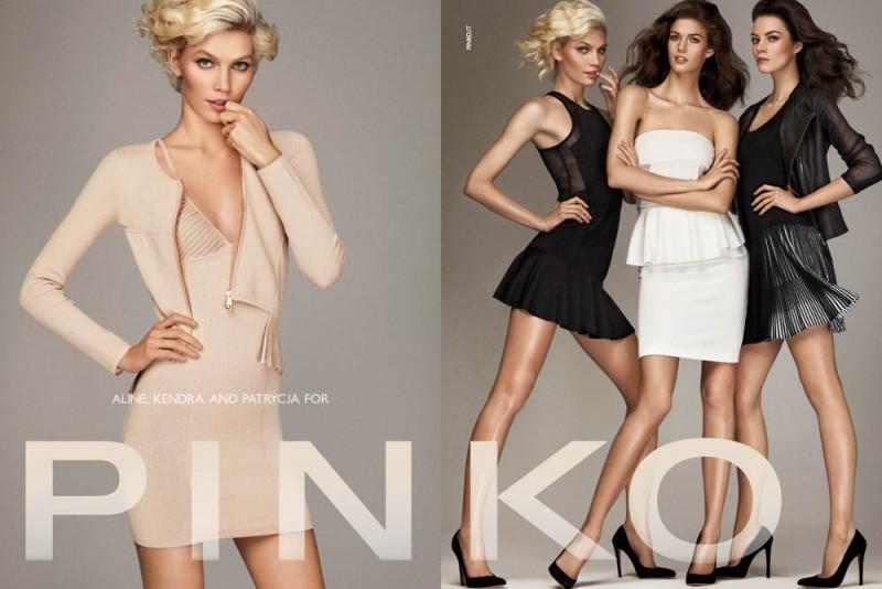 Aline Weber, Kendra Spears and Patrycja Gardygajlo Star in Pinko Spring 2013 Campaign