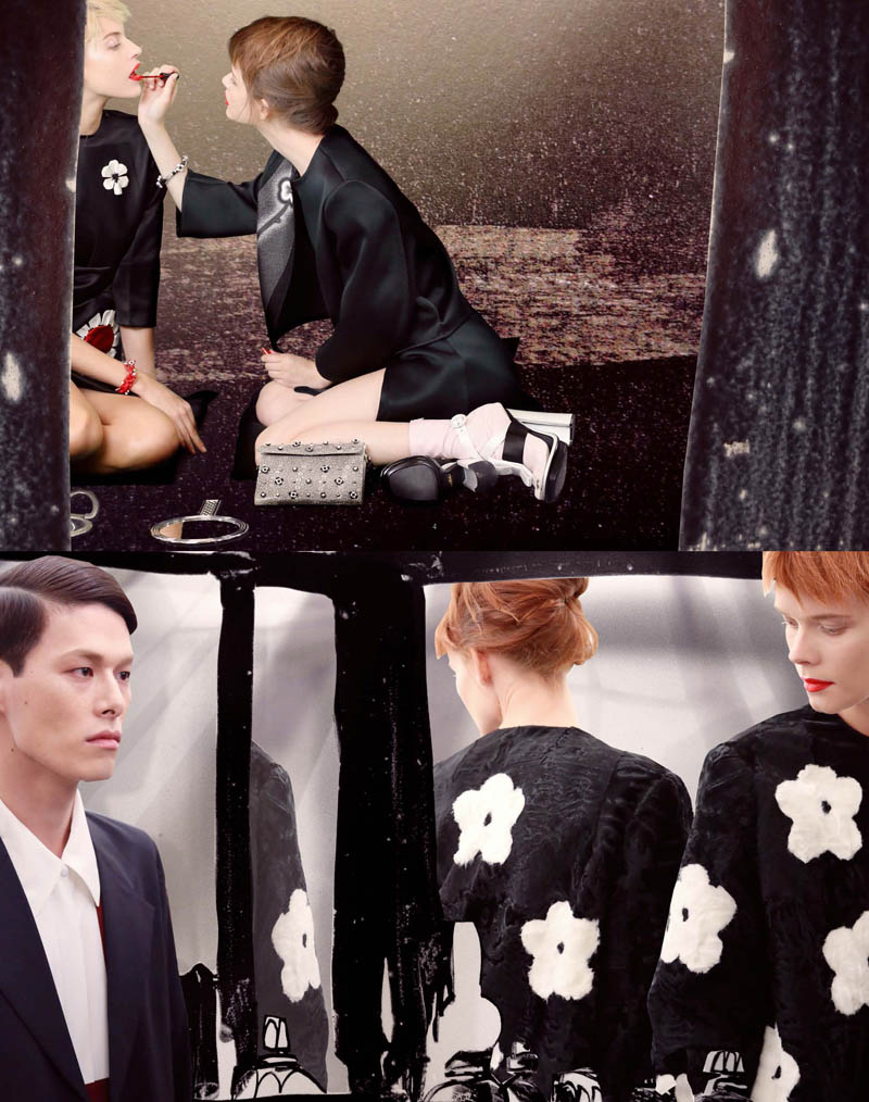 Prada Real Fantasies Spring/Summer 2013 Lookbook
