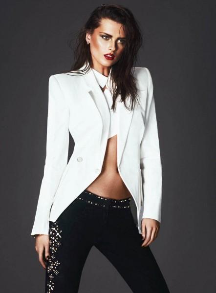 Elena Melnik Fronts S Moda Spring Fashion Spread by Andrew Yee