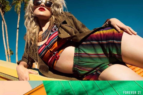 Sky Ferreira Fronts Forever 21's Festival 2013 Collection, Shot by David Roemer