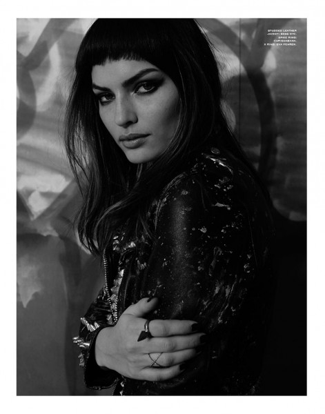 Alyssa Miller is a Quiet Rebel for Herring & Herring's Fit for Print