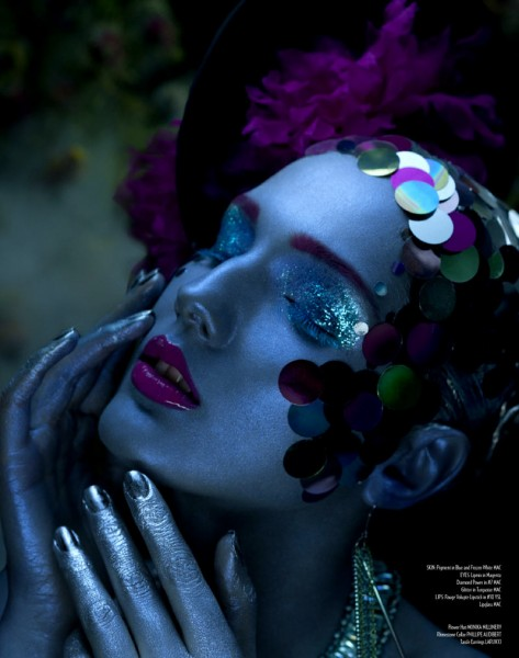 Amber Gray Captures Dark Beauty for Relapse Magazine
