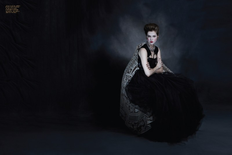 Anais Pouliot is Gothic Glam for Herring & Herring's Fit ...