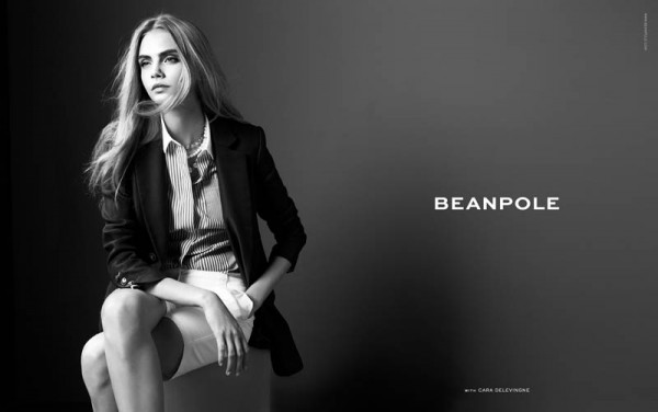 Cara Delevingne Fronts Beanpole's Spring 2013 Campaign