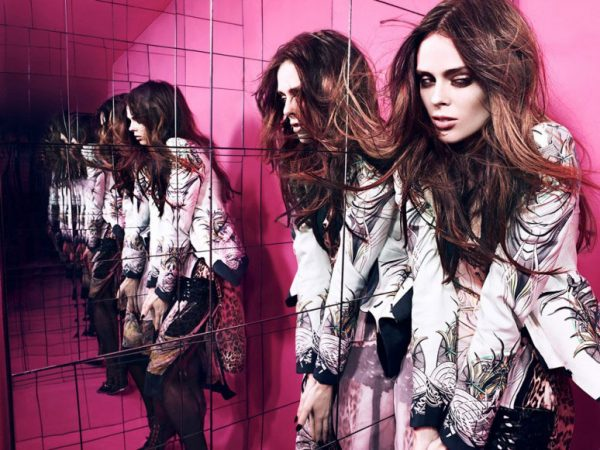 Coco Rocha Rocks Out for HUNGER Magazine in a Cavalli Fashion Film