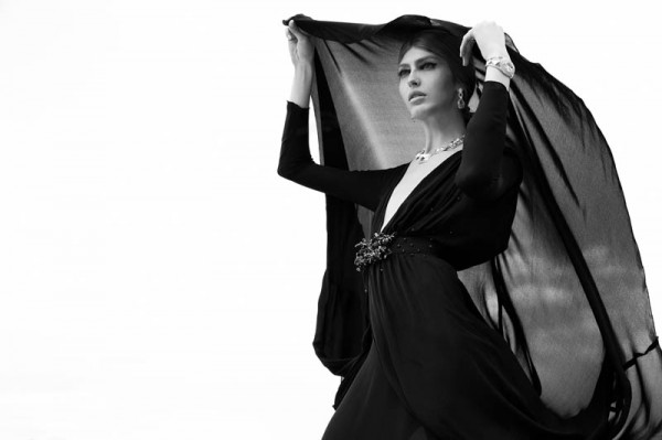 "Dafne Cejas by Josefina Bietti in ""Black and White"" for Fashion Gone Rogue"