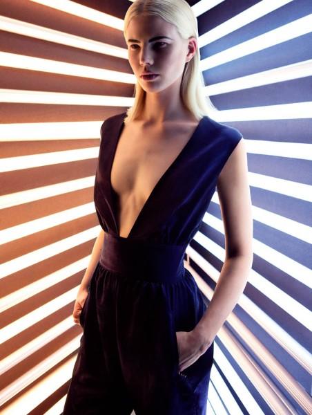 Emilia Shines in Plaza Magazine by Fredrik Wannerstedt