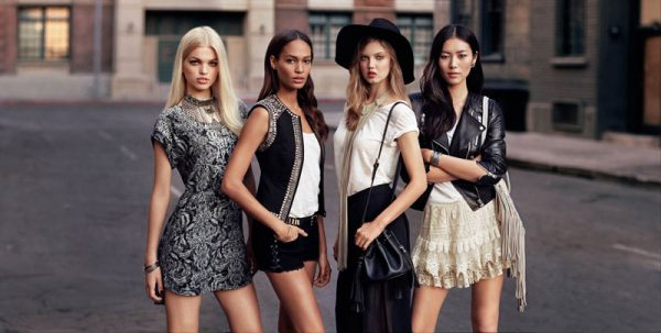 "Daphne Groeneveld, Liu Wen, Lindsey Wixson and Joan Smalls Tapped for H&M ""The New Icons"" Collection"