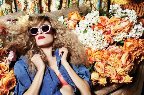 Ioanna Gika Stars in 70′s Inspired, House of Holland Spring 2013 Eyewear Campaign