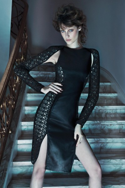 Thairine Garcia Seduces for Iodice Fall 2013 Campaign