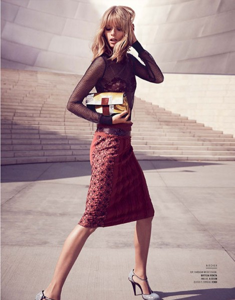 Julia Stegner Shines in El Libro Amarillo S/S 2013 by David Roemer